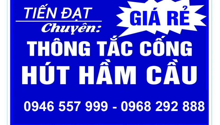 Hút bể phốt Hà Tĩnh